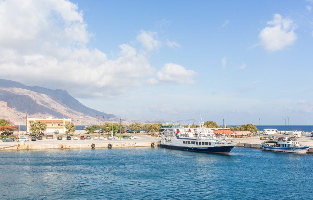 Rejs po lagunie Balos i Gramvousa z portu Kissamos